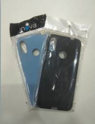 Capa Silicone Mi Note 7 Fosco Consulte Cores