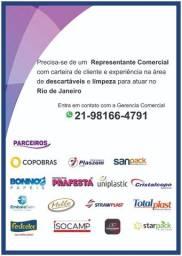 Representante Comercial para venda externa