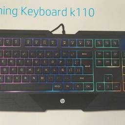 Teclado Gamer Mecânico,HP K 110
