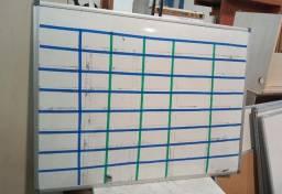 Lousa em Plástico / MDP Branco 120 cm x 90 cm x 2 cm