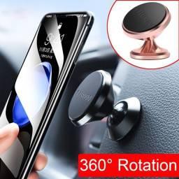 Suporte para Celular Smartphone Magneto Veicular 360