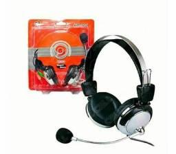 Headset com microfone para PC ou notebook