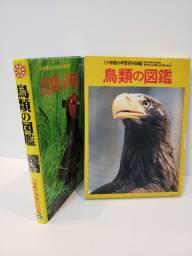 Livro Japonês - Shogakukan - Pássaros