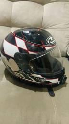 Título do anúncio: Gopro 7, capacete HJC,tudo semi novo