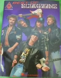 Livro de partitura Scorpions