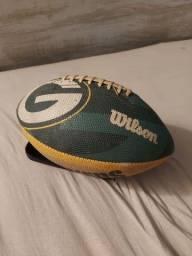 Bola de futebol americano Wilson NFL Packers