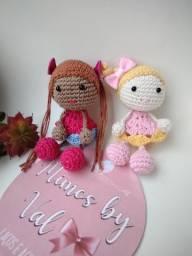 Título do anúncio: Boneca Amigurumi Crochê Criança Pronta Entrega