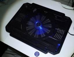 Suporte Base com Cooler para resfriamento de Notebooks R$100,00(Entrega Gratis)