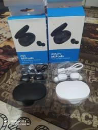 Fone de ouvido A6S com redução de ruído estero sem fio bluetooth 5.0a prova de água