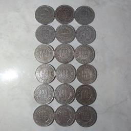 Lote de 18 moedas antigas
