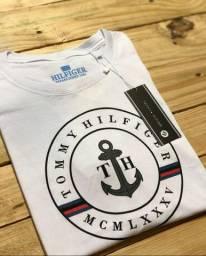 Camiseta Tommy  Hilfiger algodão 30.1 tamanho P