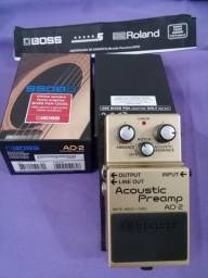 Vendo pedal Boss AD2 ( Roland ) Acoustic preamp Japan / Taiwan . .