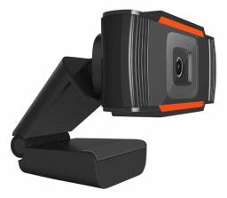 webcam 1080p full hd c/ microfone integrado (entrega grátis).
