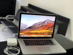 MacBook Pro 15, i7, 16GB, ssd 512gb Bateria NOVA (0 ciclo)
