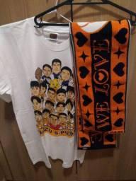 Título do anúncio: Shimizu camiseta e faixa-toalha