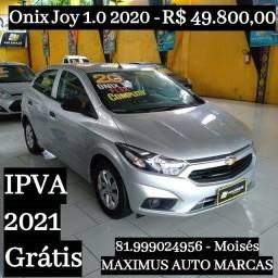 Onix 1.0 Joy 2020 Prata