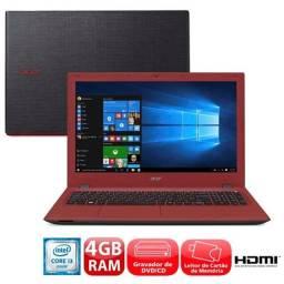 Notebook acer intel core i3 4 gb ram 1 tb de hd
