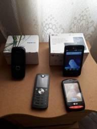 Título do anúncio: Lote de celulares antigo