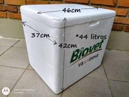 Título do anúncio: Kit Caixa Isopor 44l + 2 Gelo Gel - BAG Acampamento Viagens Mantimentos Bebidas
