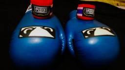 Luva de Boxe / Muay Thai Bad Boy + Bandagem Punch