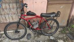 Bicicleta de motor linda