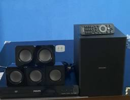 Som Home Theater Philips HTD3509x78 DVD 300W
