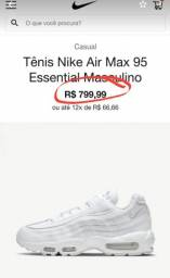 Título do anúncio: Nike air max 95 essential 44