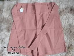Shorts feminino apenas 40$ !!!
