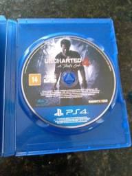 2 Jogos de Ps4 Uncharted 4 e The last of us