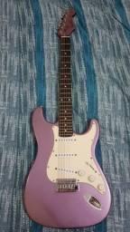 (Pra pegar hoje) Guitarra Stratocaster handmade Purple Para sair hoje!