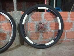 2 rodas montadas 100 tudo