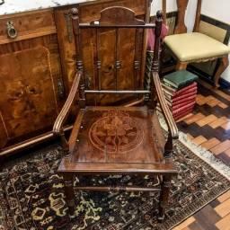 Cadeira de Aproximação Antiga Virada Século XIX-XX