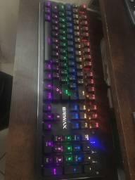Teclado semi-mecânico RGB Briwax