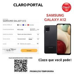 Título do anúncio: Samsung A12 em oferta no Plano de 40GB