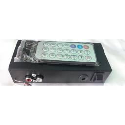 MODULO BLUETOOTH E USB PARA SOM COM ENTRADA AUXILIAR