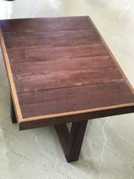 Mesa de centro ( madeira) 130,00 usada