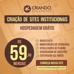 Site Profissional por R$59 mensais com Hospedagem Grátis