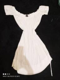 Vestido branco gelo Tam 38, 40