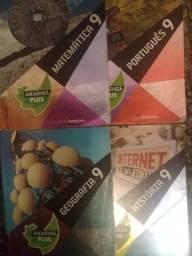 Livros Arariba Plus 9ª (Português, história, matemática, e geografia)