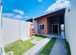 JP casa nova do lado da sombra em rua asfaltada com 2 quartos 2 banheiros