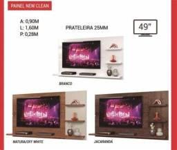 Painel new clean p/ tv de 49 pol. zap *