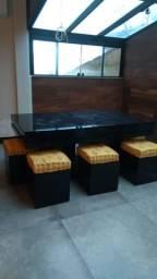Mesa de bilhar refeições e pooker (3em1)