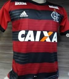 Camisa Do Flamengo 2018 Camiseta Do Mengo Nova Uniforme 1 e 2 Entrego Gratis 820e976403696