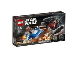 A-wing Vs Silenciador TIE - Lego