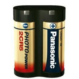 Bateria 2CR5 Panasonic - Lithium 6V - Nova, Original