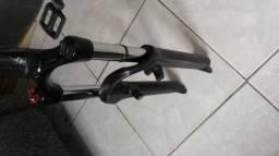 Suspensão Rst Dirt Aro 26 130mm Com Retorno Hidraulico