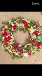 Arranjos natalinos artesanais especiais