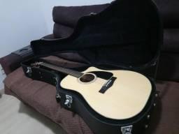 Violão Fender CD60CE Natural (único dono)