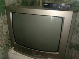 TV de tubo LG 20 polegadas com conversor digital