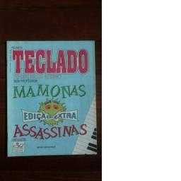 Revista Teclado Toque Hoje Mesmo Mamonas Assassinas